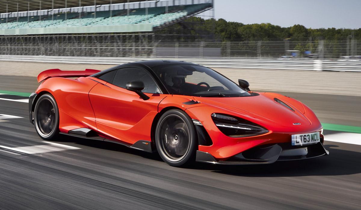 Длиннохвостый McLaren 765LT: спайдер вслед за купе