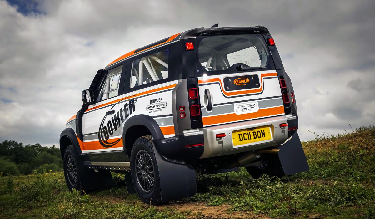 Bowler подготовил гоночный Land Rover Defender 90