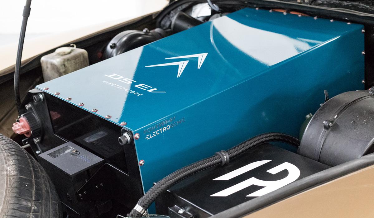 Компания Electrogenic представила электрический Citroen DS