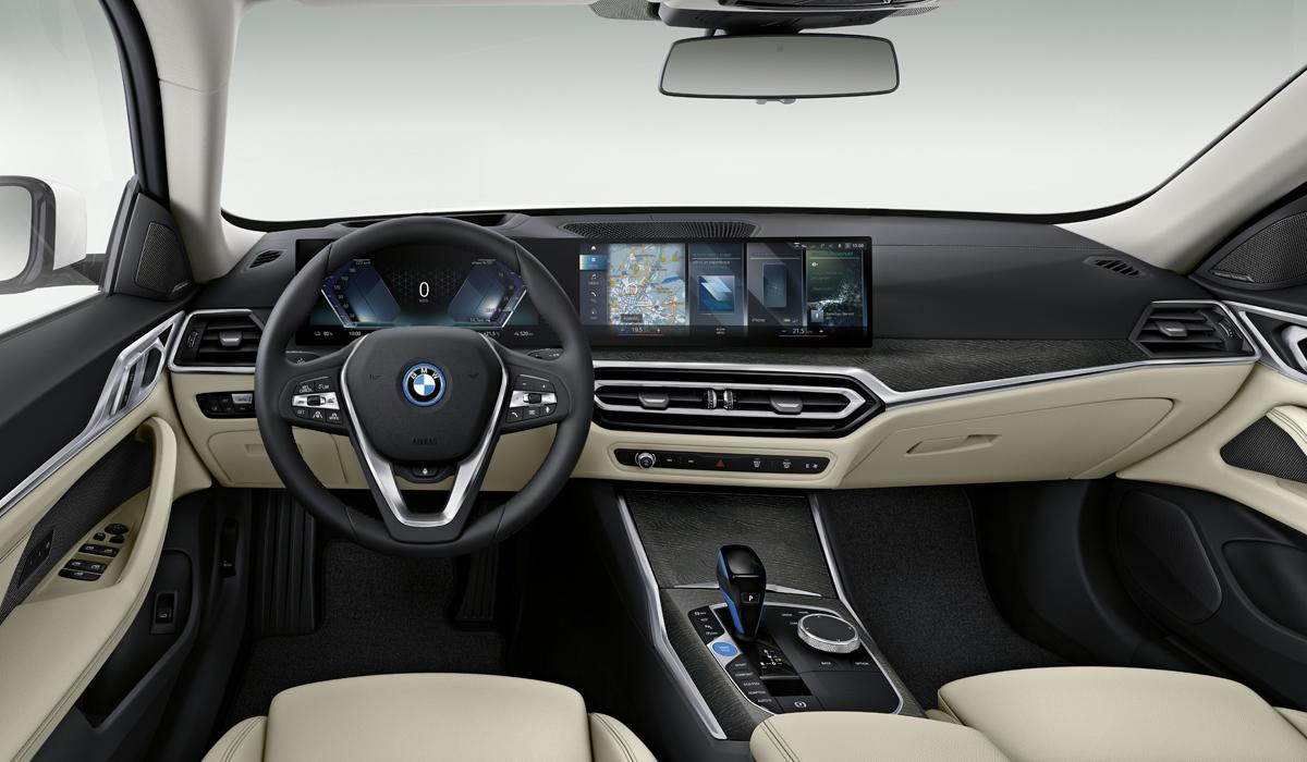 Электрический лифтбек BMW i4: все подробности