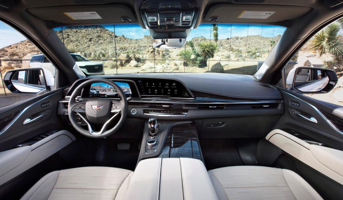 Cadillac Escalade нового поколения выходит на российский рынок