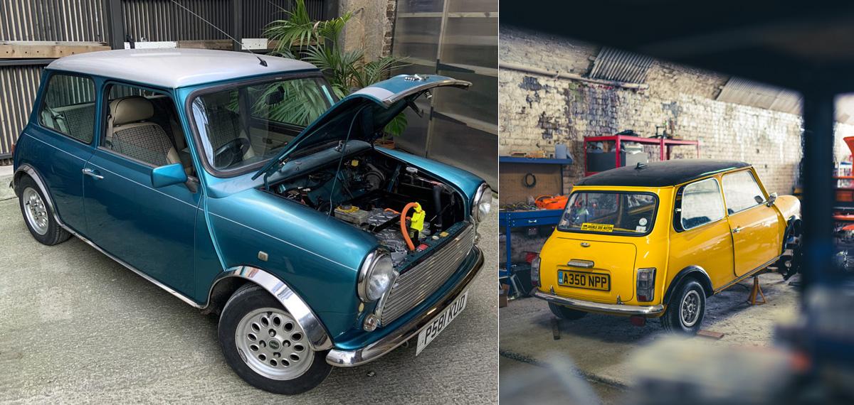 Компания London Electric Cars скрестила Mini и Nissan Leaf