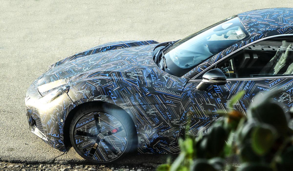 Новое купе Maserati GranTurismo вышло на испытания