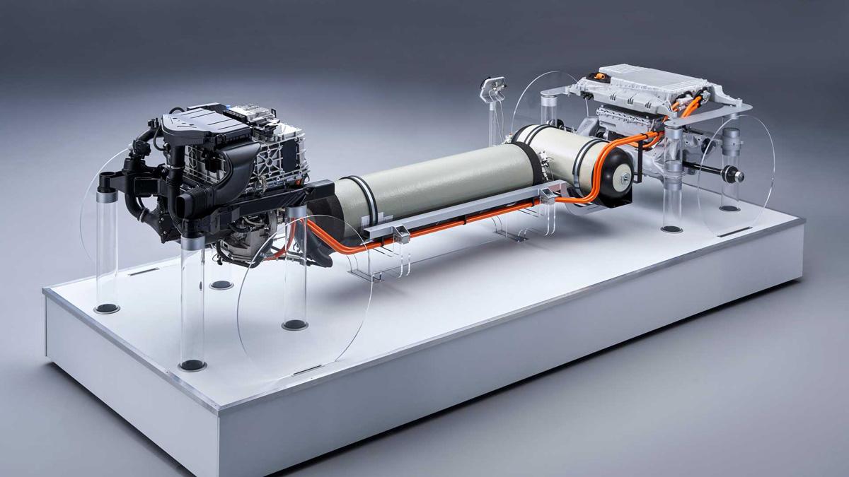 Водородный BMW X5 вышел на испытания