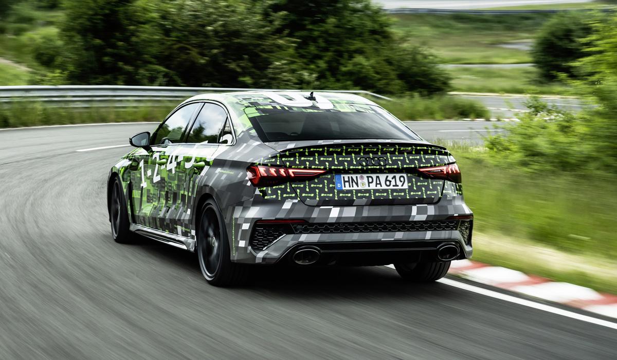 Audi RS 3 нового поколения будет иметь режим дрифта