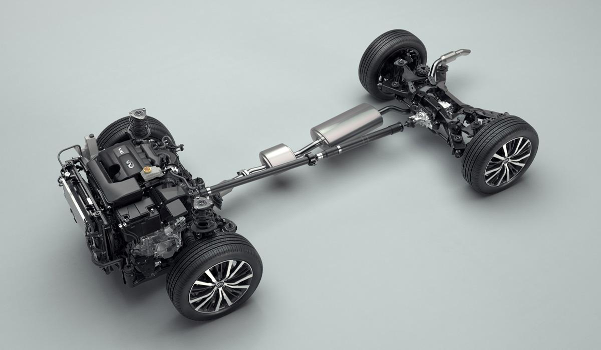 Представлен кроссовер Infiniti QX60 второго поколения