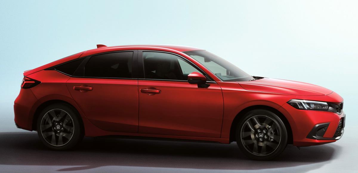 Новая Honda Civic одиннадцатого поколения: теперь и хэтчбек