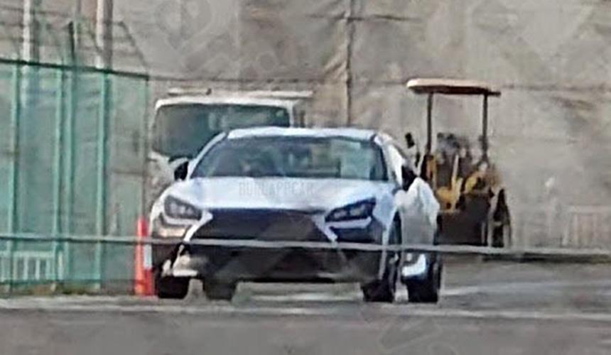 Lexus готовит свою версию купе Toyota GR 86