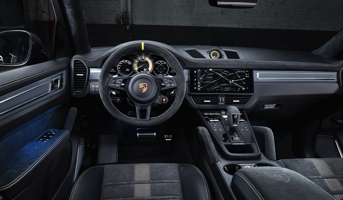 Рекордный Porsche Cayenne Turbo GT полностью рассекречен