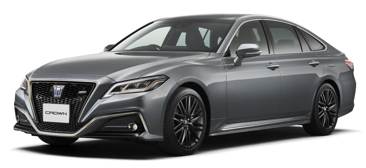 У седана Toyota Crown появились новые спецверсии