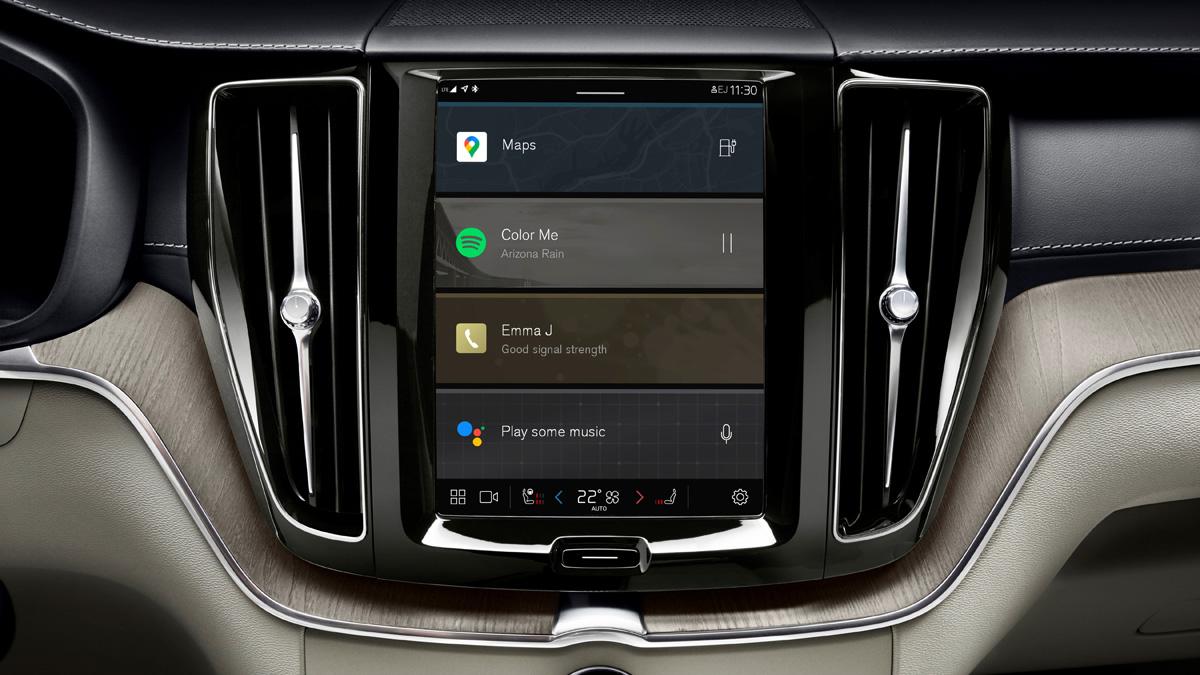 Обновленный кроссовер Volvo XC60 перешел на Android