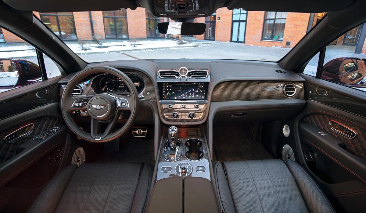 До России добрались обновленные кроссоверы Bentley Bentayga