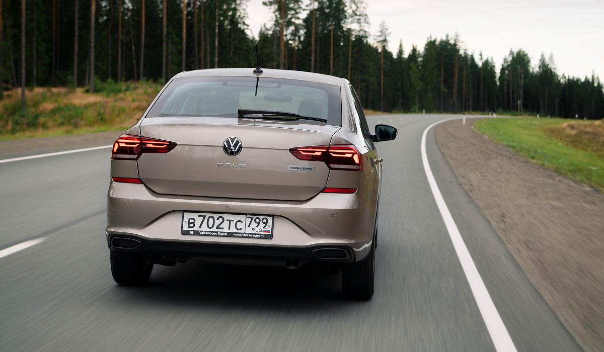 Volkswagen Polo Football Edition: цены в России