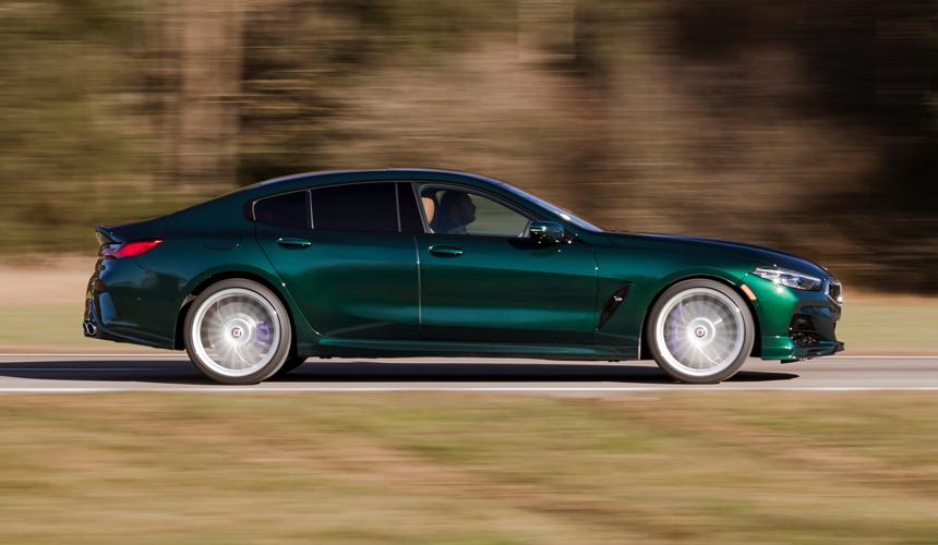Антиэмка BMW Alpina B8 Gran Coupe: открыта новая гамма-за основу взята «гражданская» модификация M850i