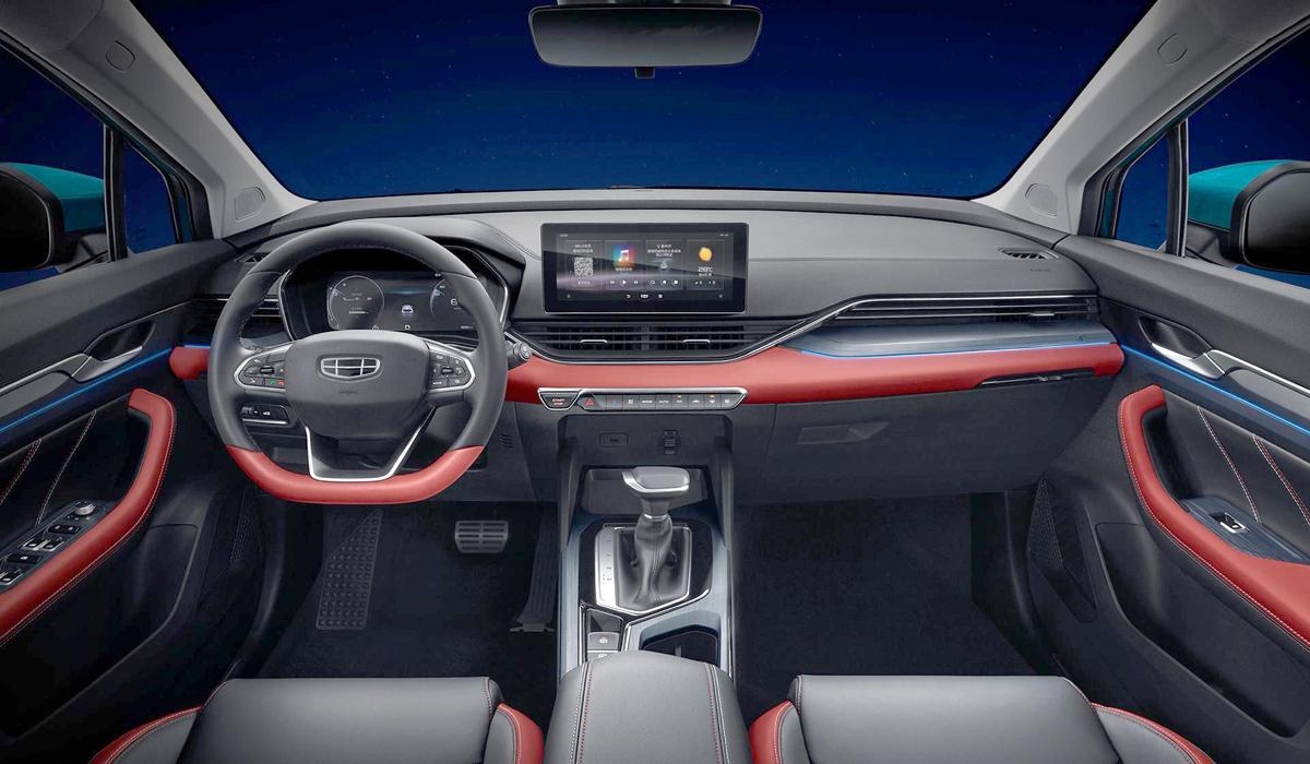 Хэтчбек Geely Emgrand S стал развитием модели Emgrand GS