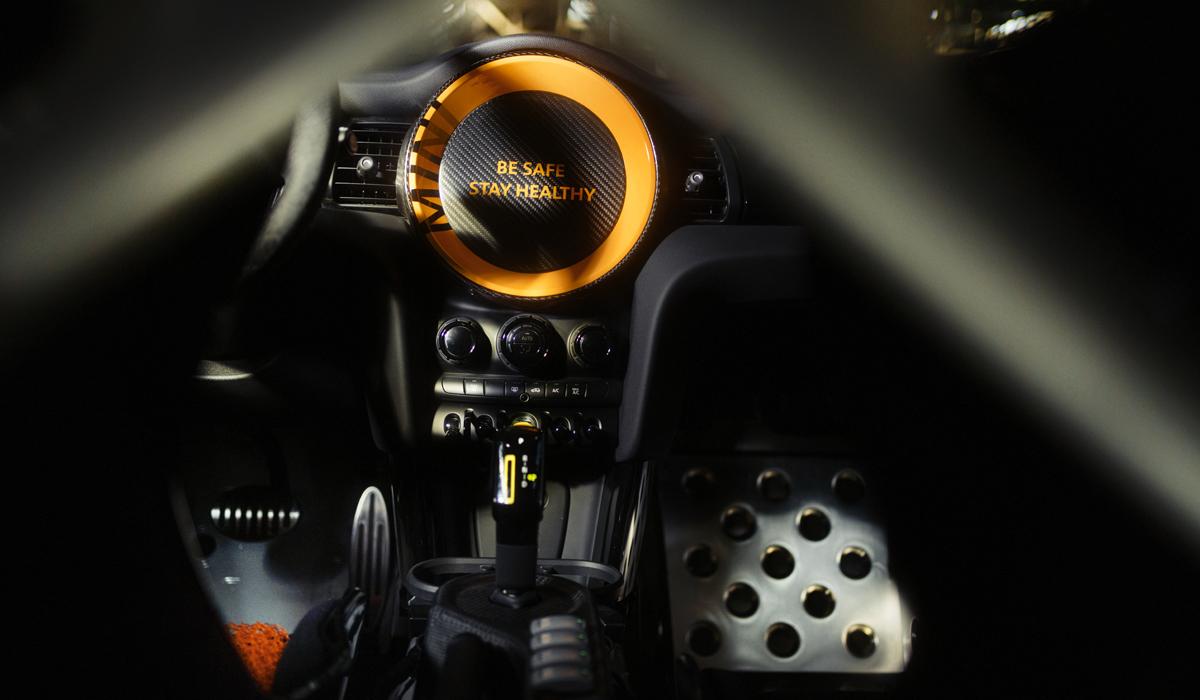 Хэтчбек Mini Electric Pacesetter от серийного Mini Cooper SE, предвосхитил JCW-электромобиль