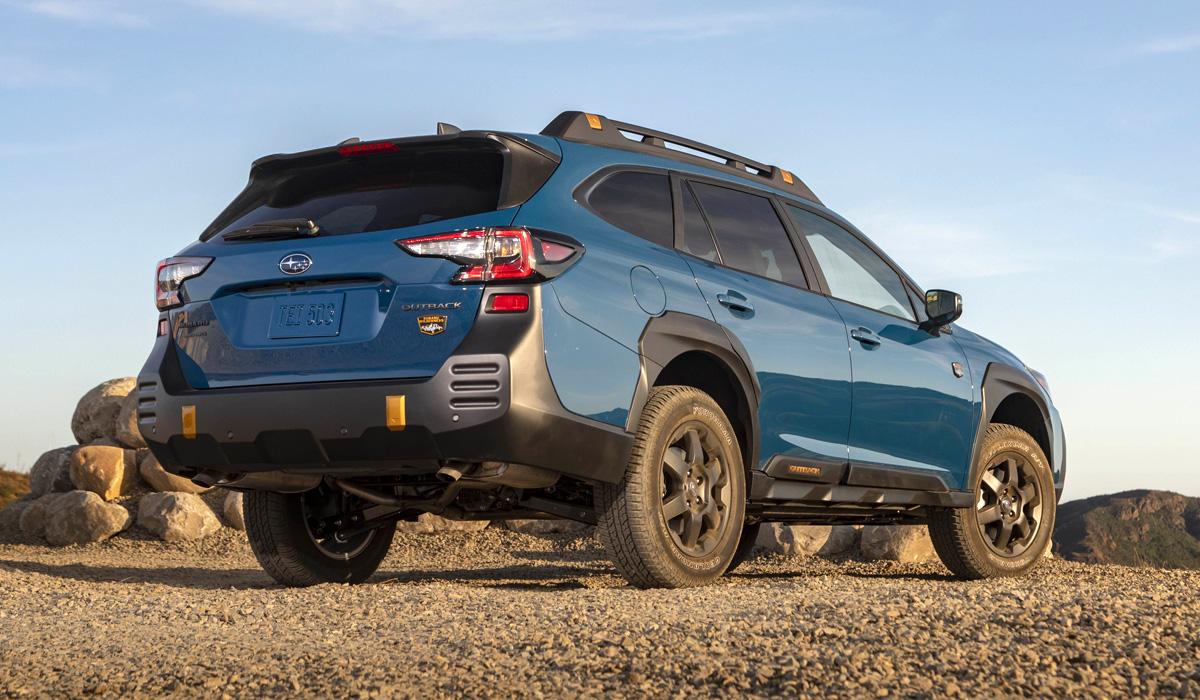 Представлен «злой» кроссовер-универсал Subaru Outback Wilderness для дикой местности