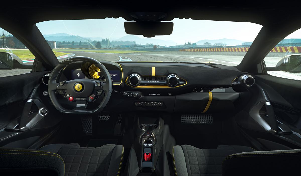 Новая экстремальная версия Ferrari 812 Competizione: самый мощный V12 и передовое шасси