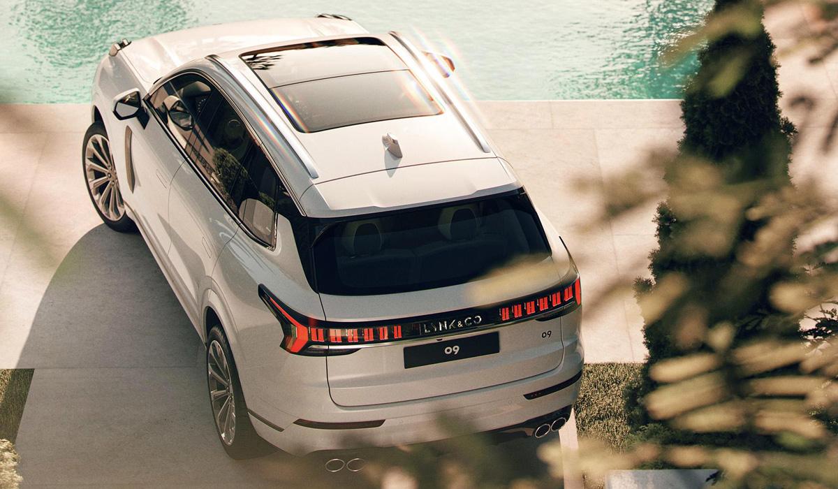 Большой кроссовер Lynk & Co 09 станет родственником Volvo XC90