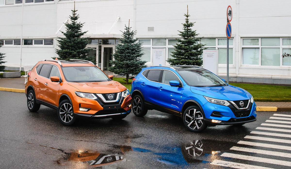 Российские Nissan Qashqai и X-Trail с полуавтопилотом: цены