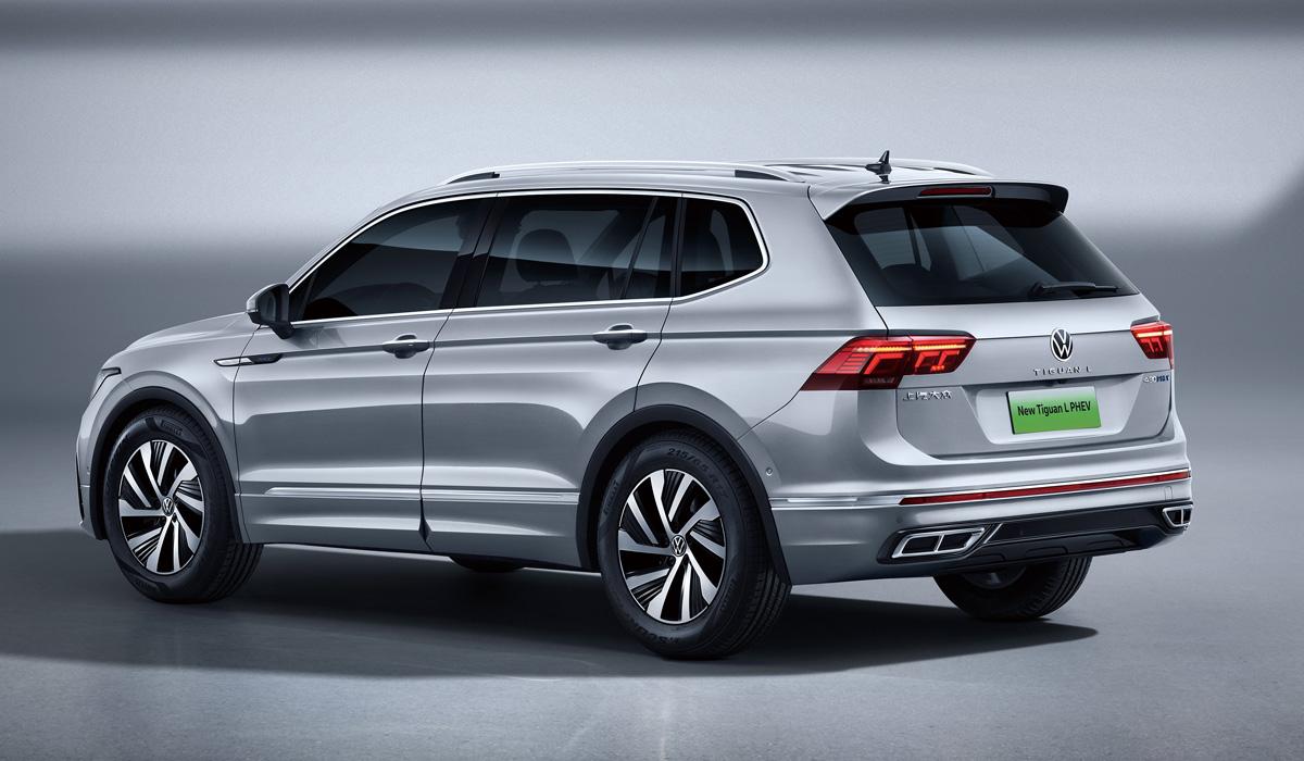 Цикл обновления кроссовера Volkswagen Tiguan завершен