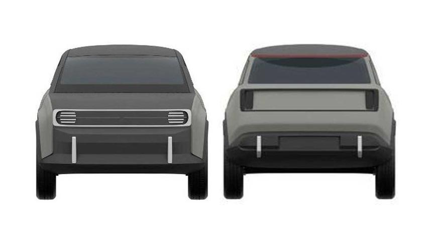 Ставка на ретро-тематику: запатентован возрождаемый Renault 4