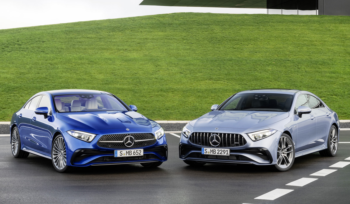 Обновленный Mercedes CLS для России: только две версии
