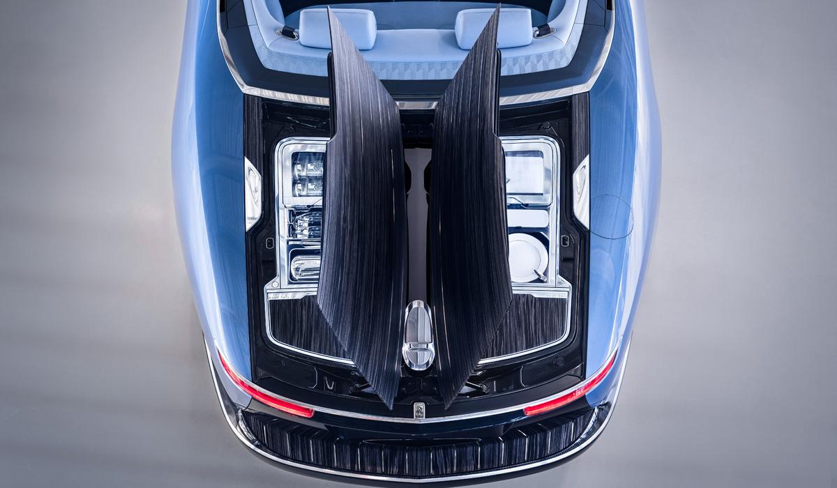 Новый открытый Rolls-Royce Boat Tail: три экземпляра для избранных