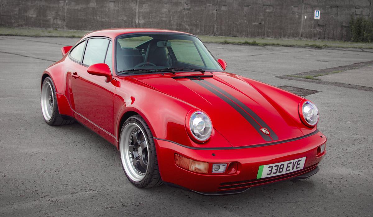 Классический Porsche 911 превратился в электромобиль Everrati Signature