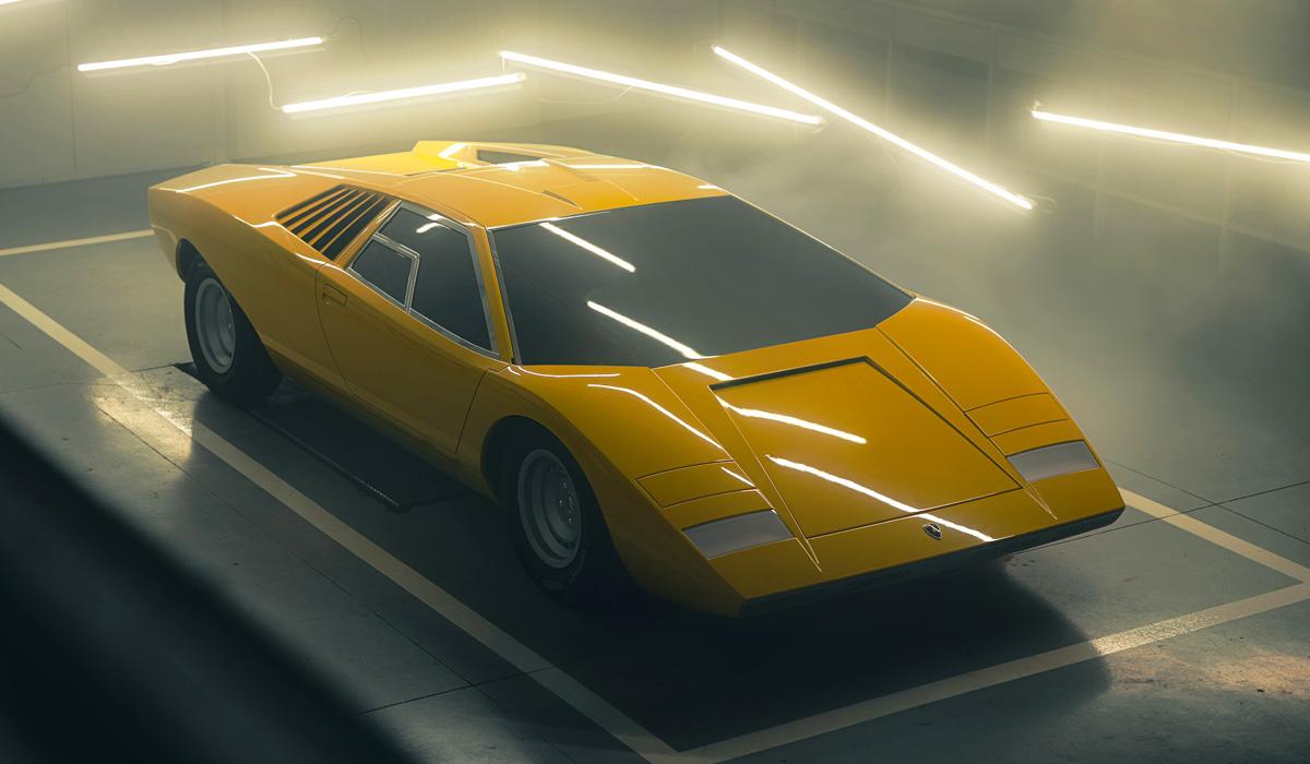 Построена реплика самого первого Lamborghini Countach