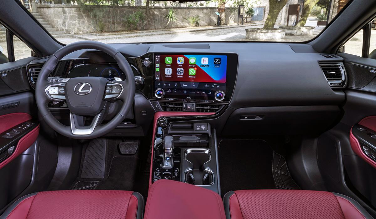 Кроссовер Lexus NX нового поколения: версии для России