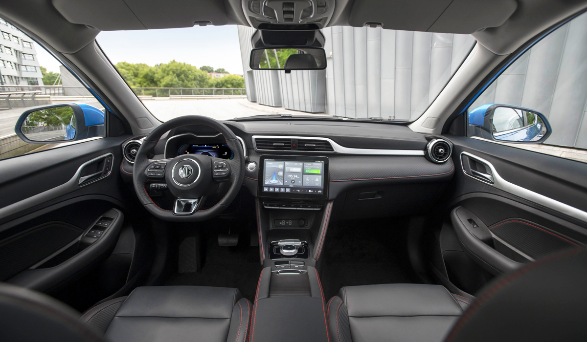 Электрический кроссовер MG ZS: масштабная модернизация для Европы