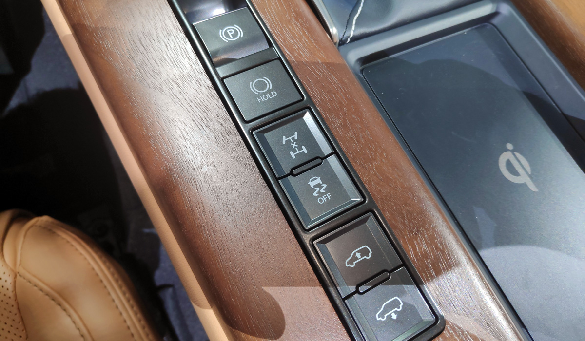 Представлен внедорожник Lexus LX нового поколения (+ФОТО)