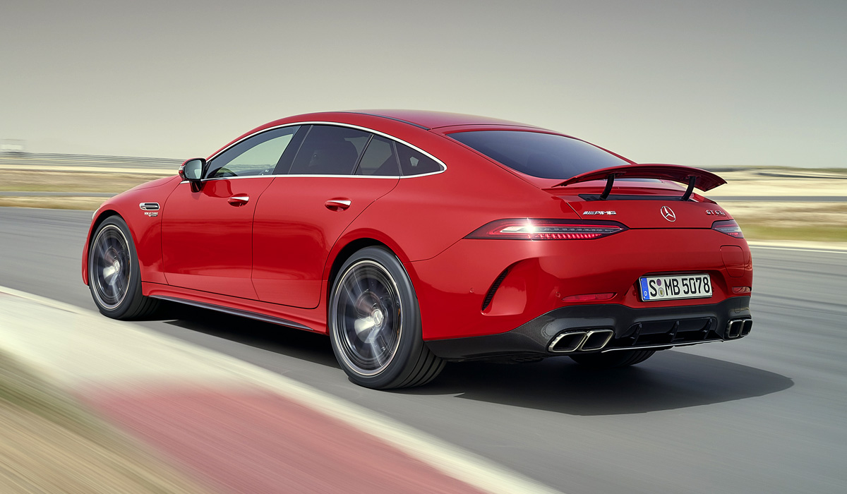 Представлен гибрид Mercedes-AMG GT мощностью более 840 «лошадей»
