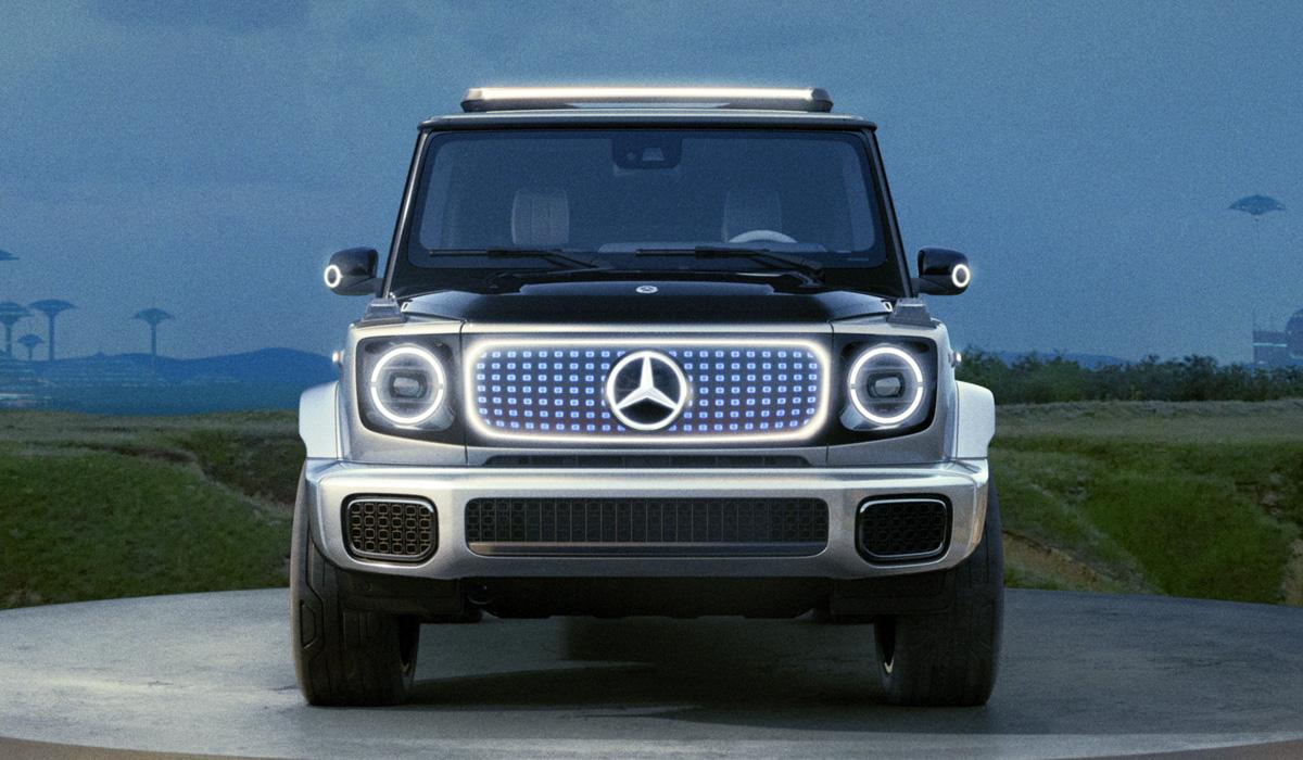 Новый Mercedes-Benz EQG, или Каким будет электрический G-класс
