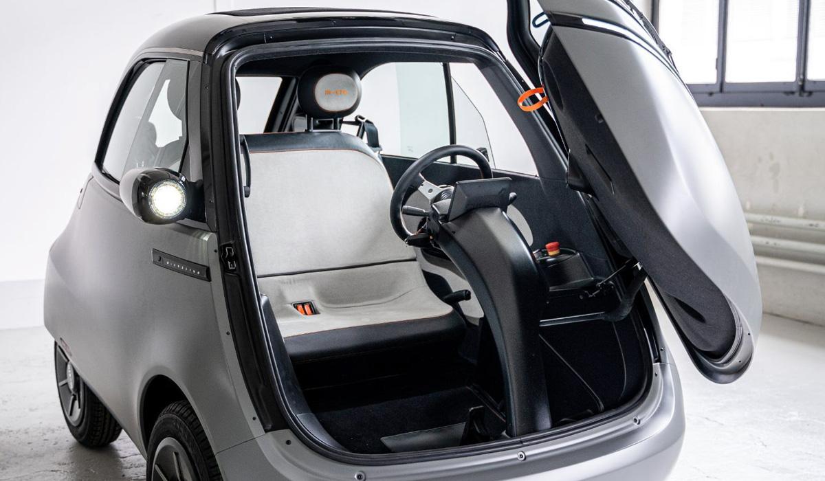 Возрожденная Isetta под названием Microlino 2.0: серийная версия