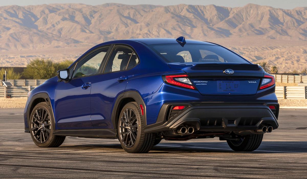 Представлен «заряженный» седан Subaru WRX нового поколения