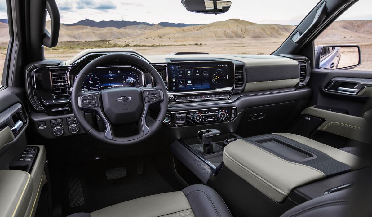 Пикап Chevrolet Silverado 1500: модернизация и вездеход ZR2