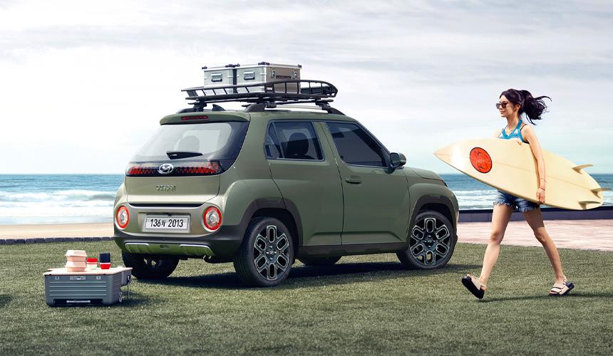Новый паркетник Hyundai Casper показал необычный салон