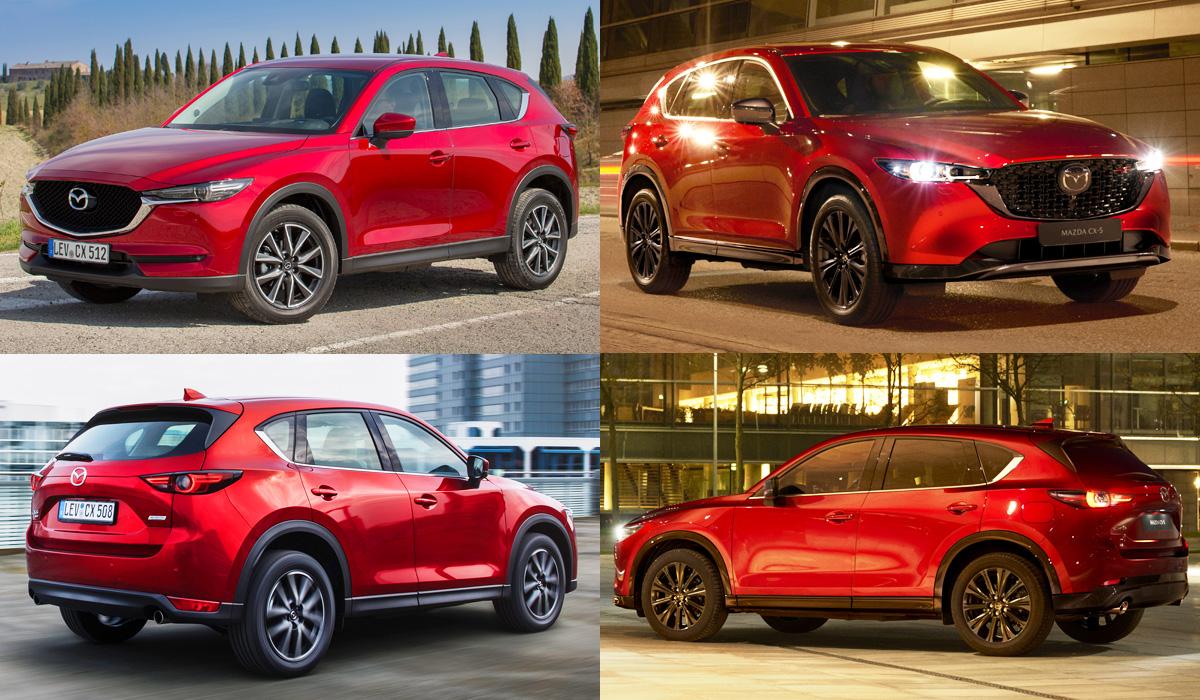 Представлен обновленный кроссовер Mazda CX-5
