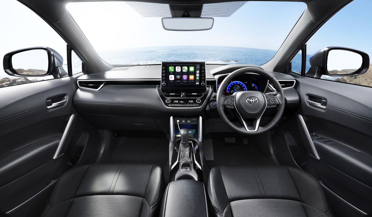 Toyota Corolla Cross сменила дизайн в японской версии