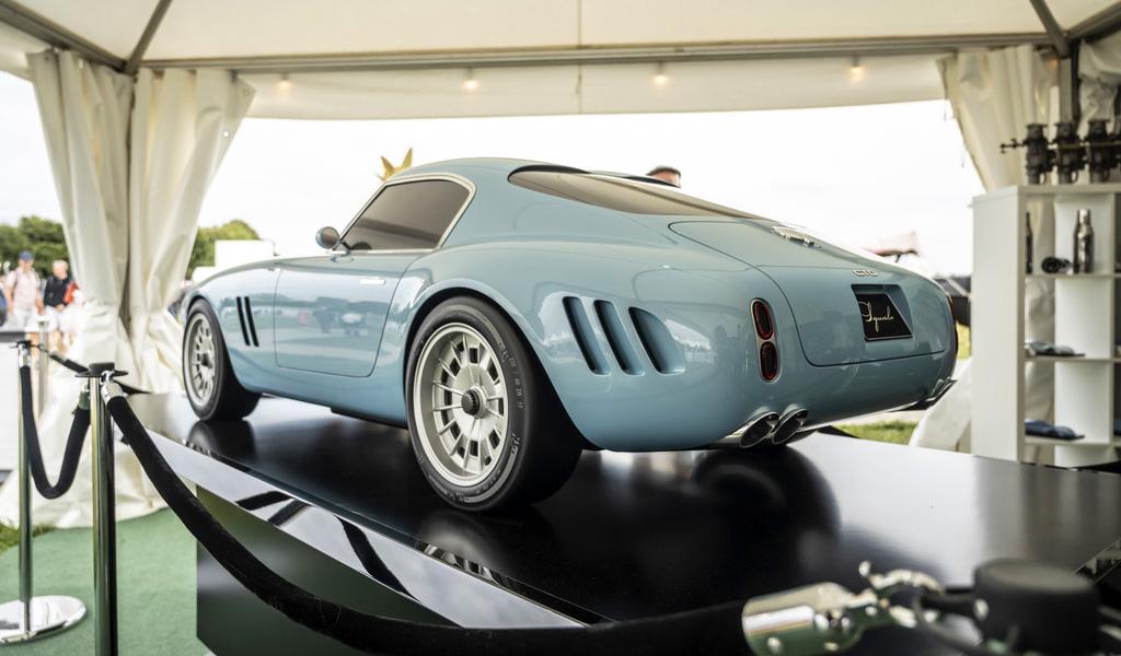 Суперкар Squalo дебютировал в виде масштабной модели