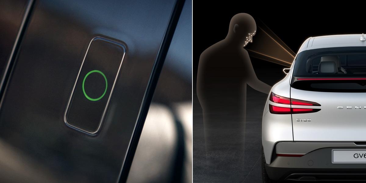 Genesis GV60 будет иметь биометрические сканеры