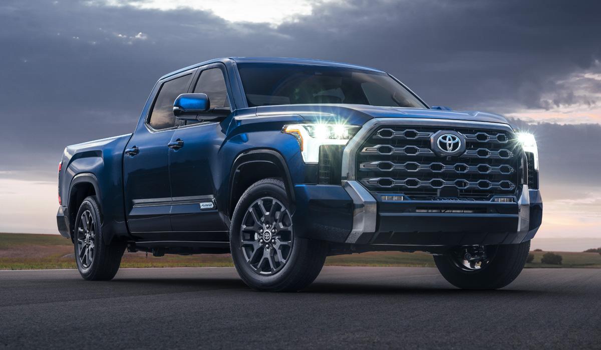 Представлен пикап Toyota Tundra нового поколения