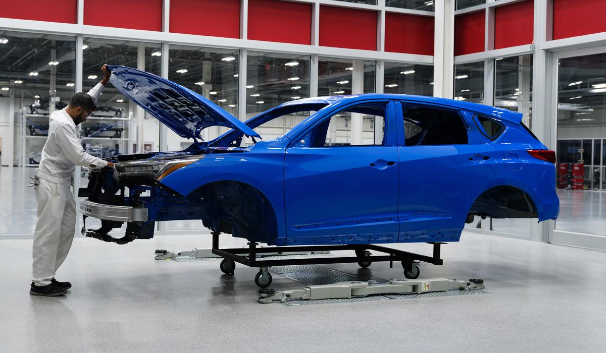 Обновленный кроссовер Acura RDX порадует тишиной