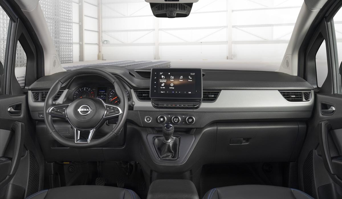 Новый Kangoo превратился в Nissan Townstar