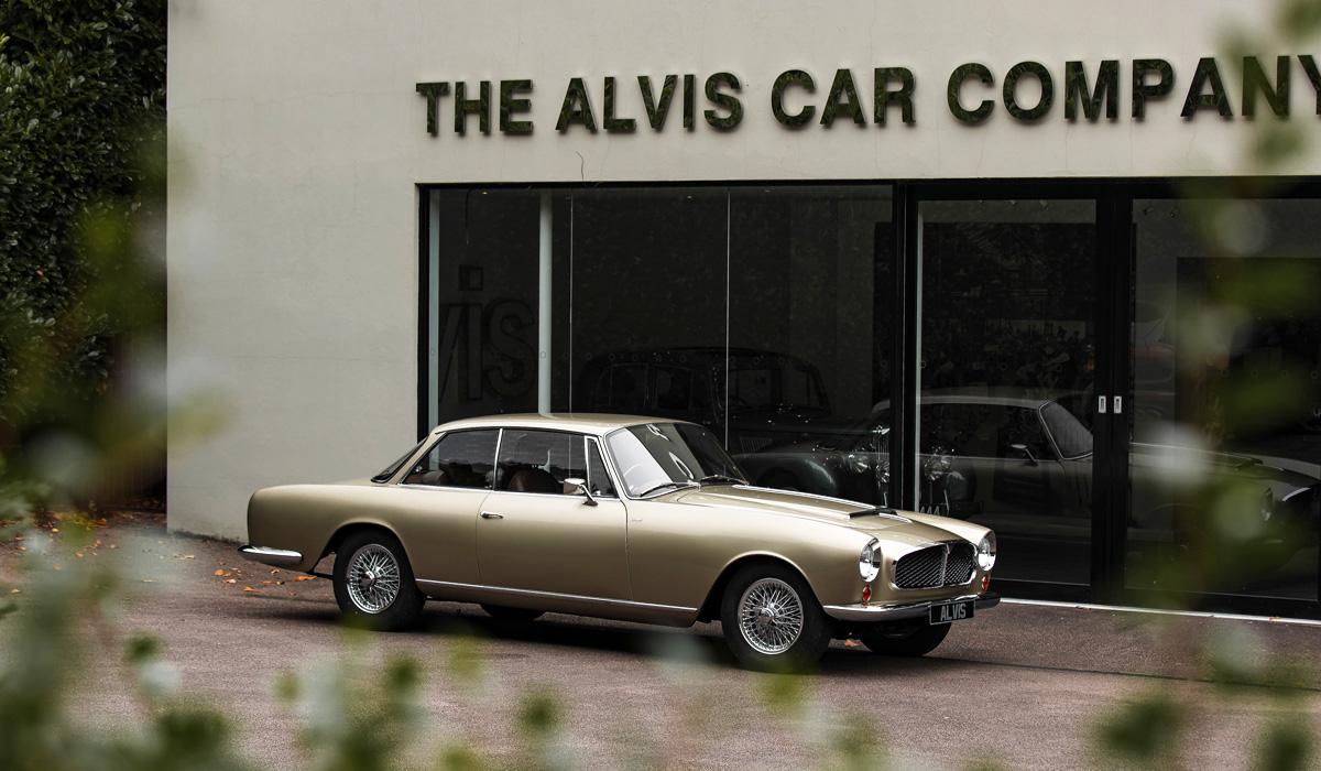Alvis построил первую послевоенную модель продолженной серии