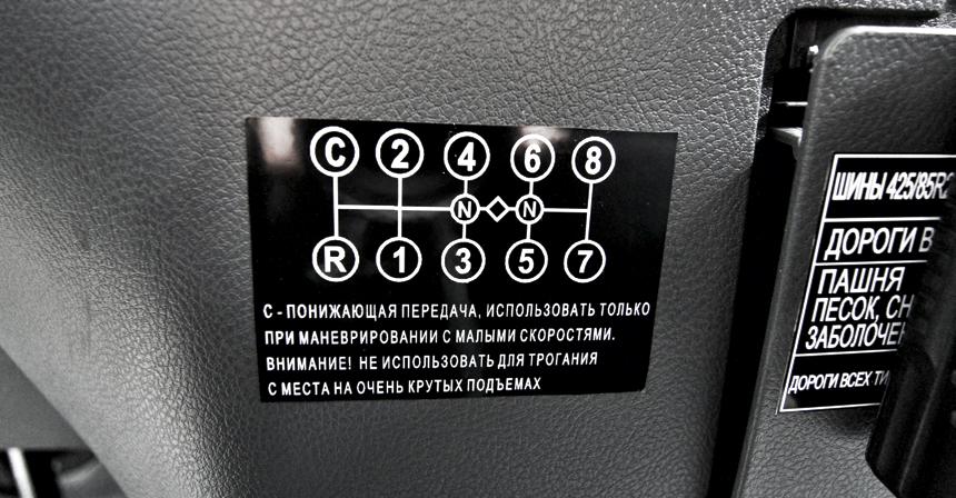 Управление и механизм переключения раздаточной коробки урал-4320.