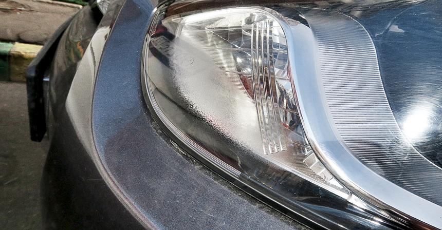 В отличие от фар Kia, у Hyundai они больше склонны к запотеванию (нафото)