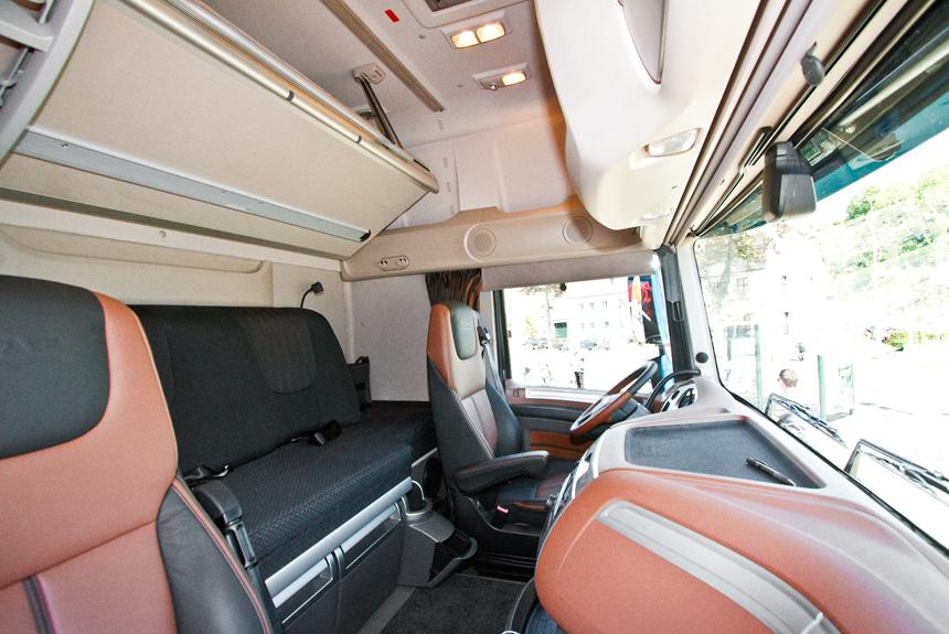 Кабина XF Super Space Cab остается одной из самых просторных на рынке
